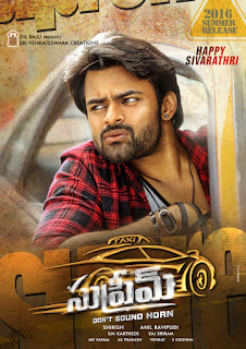 sai dharam tej supreme movie new posters