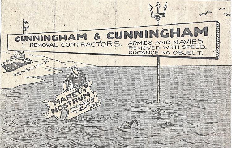 3 April 1941 worldwartwo.filminspector.com Cunningham
