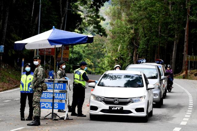 Anggota polis cedera dipukul lelaki bawa dadah ketika rondaan PKP