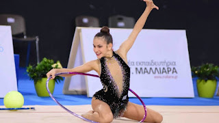 Χρυσό μετάλλιο για τη αθλήτρια από την Λέσβο Μαρία Δερβίση στη ρυθμική και ασημένιο στο ανσάμπλ στο 4ο διεθνές τουρνουά Aphrodite Cup