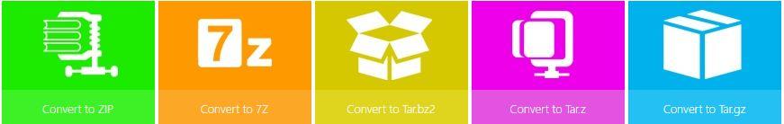 archive converter online