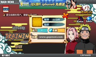Naruto Senki v1.20 First 3 Apk