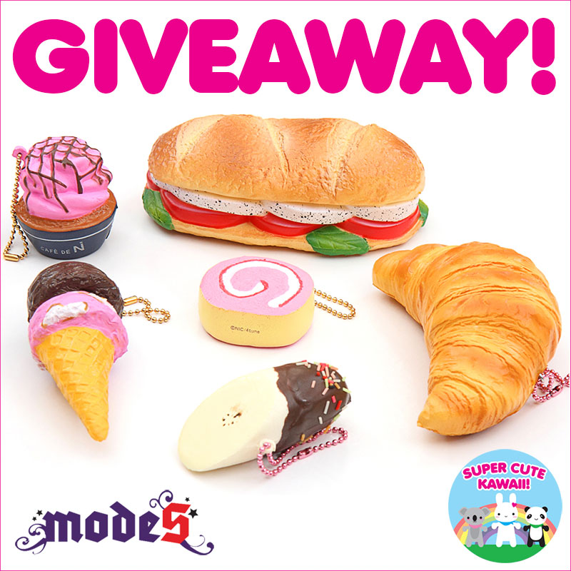 Amy and Fur Crew: Modes4U Squishies Giveaway