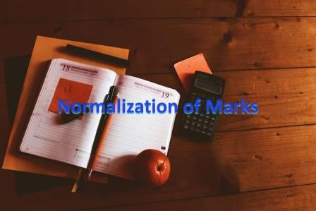 Normalization of Marks