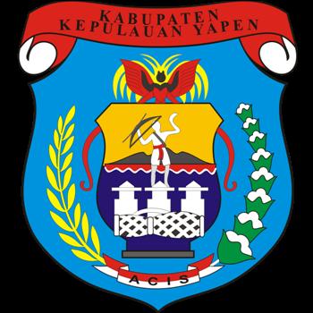 Logo Kabupaten Kepulauan Yapen PNG