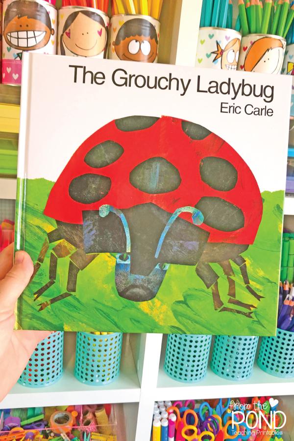 The Grouchy Ladybug Eric Carle