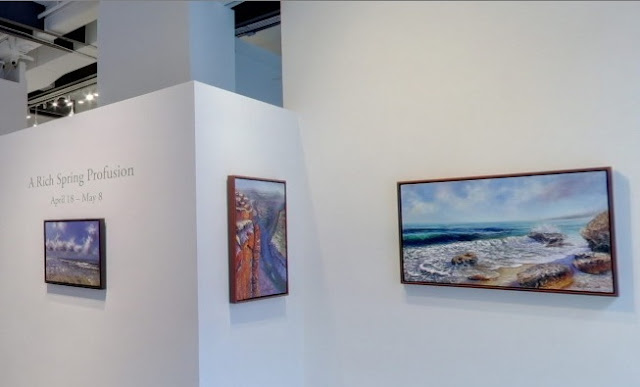 """A Rich Spring Profusion"" Exhibition at Agora Gallery"