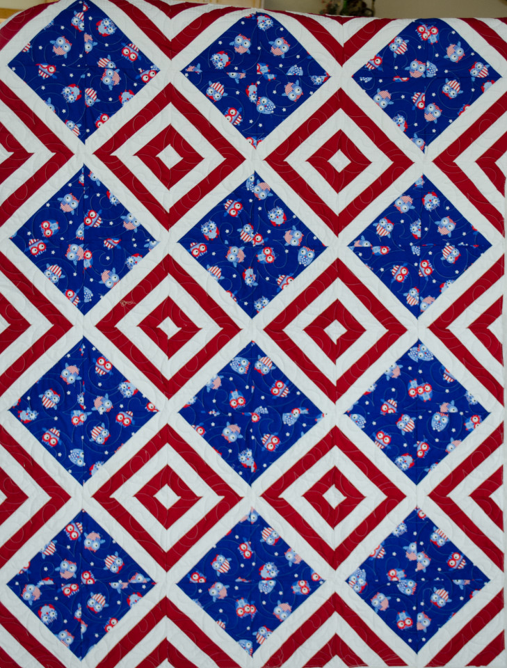 Alycia Quilts: Quilts of Valor Colorado - August