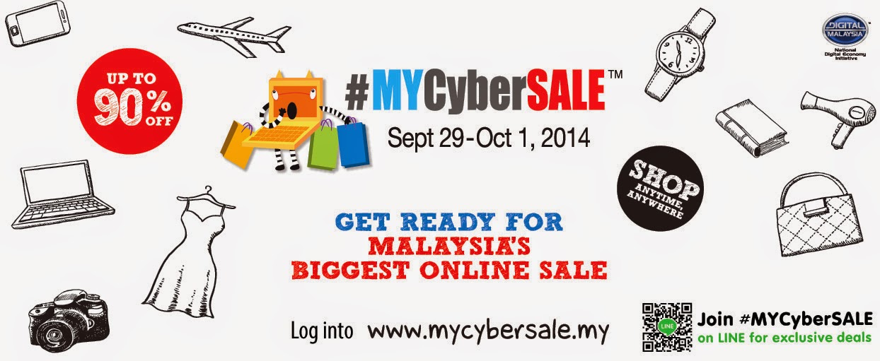 #MYCyberSALE - Malaysia first & biggest online sale