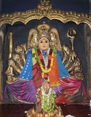 Image of Maa Bhadrakali at Warangal