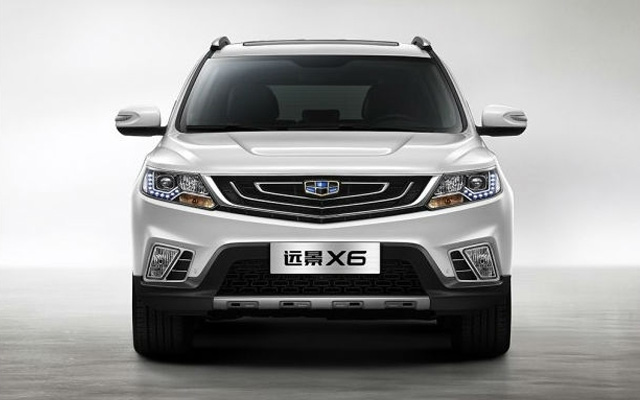 Geely Emgrand X6
