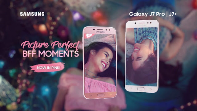 Galaxy J7+ and J7 Pro in Pink variants