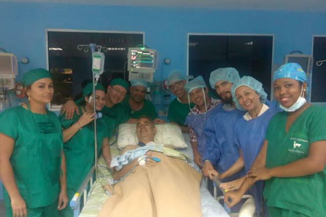 Freddy Bernal aún vive y monta un Show en un hospital Público
