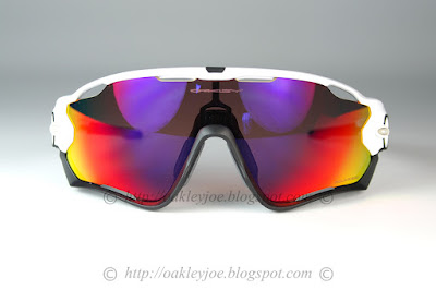 6d6ee38ab8c Custom Jawbreaker polished white + prizm ruby iridium  295 lens pre coated  with Oakley hydrophobic nano solution complete set with vault