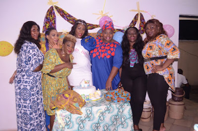 Last Prophet's wife gets surprise baby shower party from friends and colleagues
