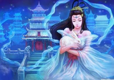 Kisah Mitologi Chang'e (Mitologi tiongkok) yang menjadi updatean baru karakter hero Mobile Legend