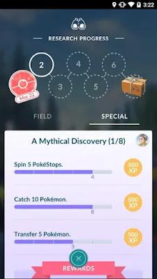 Pokemon Go Dec Research