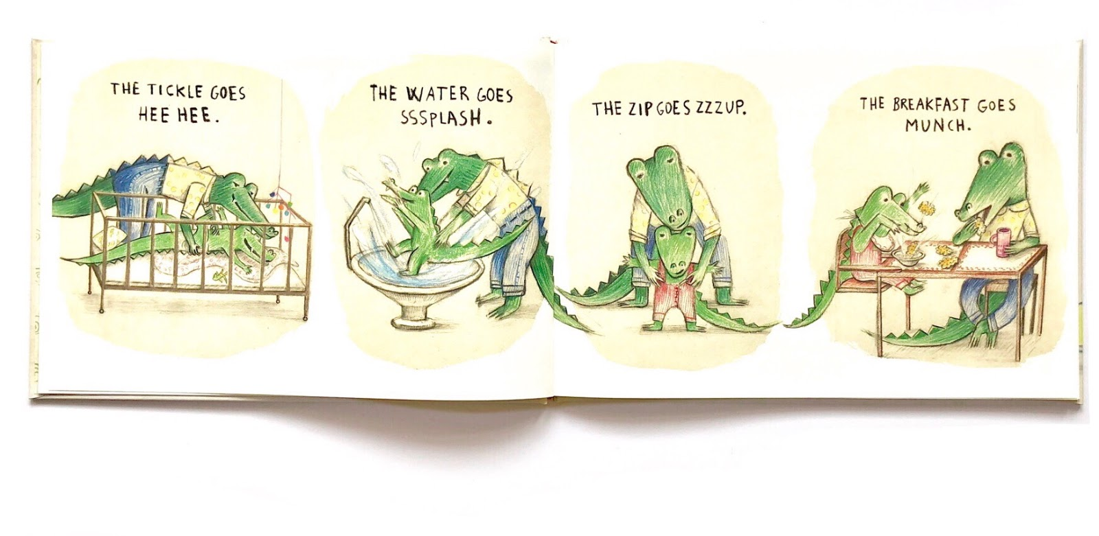 About attachment and Independence: What does the crocodile say