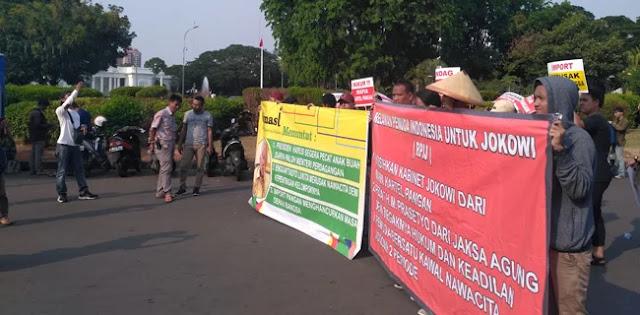 Mahasiswa: Lebih Baik Mengorbankan Jokowi daripada Terjadi Reformasi Jilid II