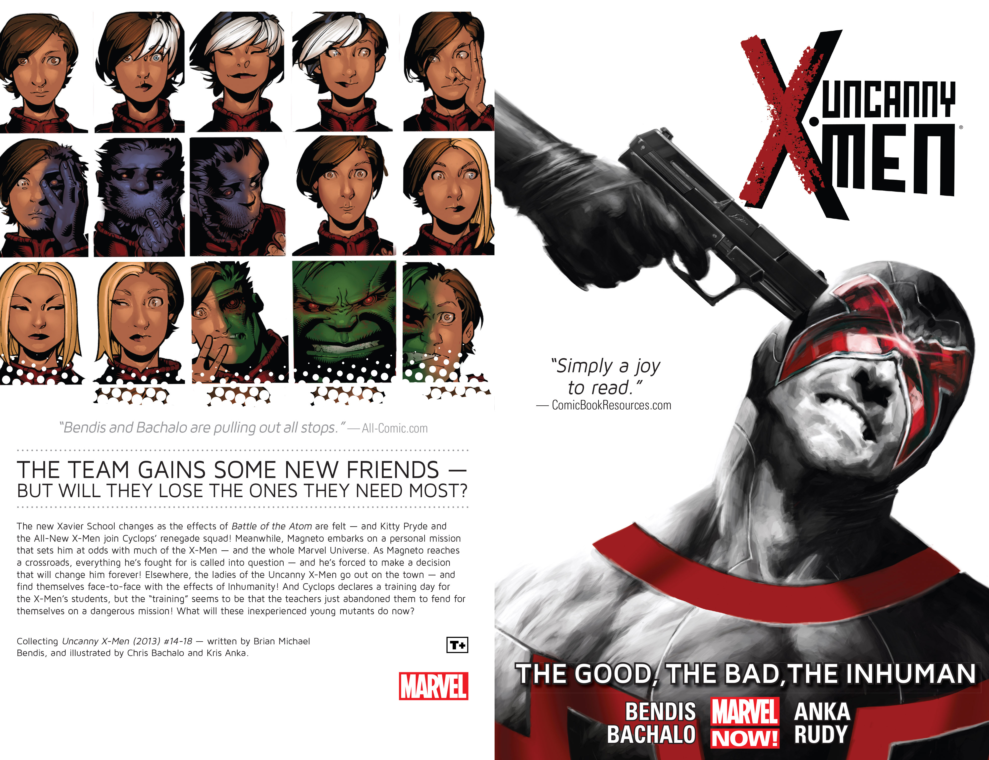 Read online Uncanny X-Men (2013) comic -  Issue # _TPB 3 - The Good, The Bad, The Inhuman - 2