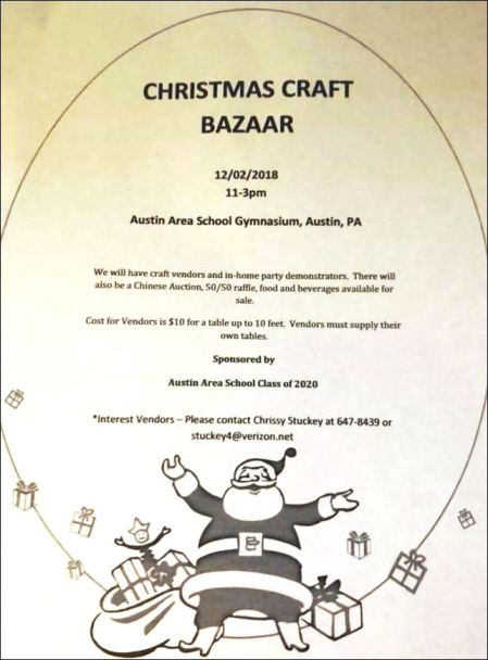 12-2 Christmas Craft Bazaar
