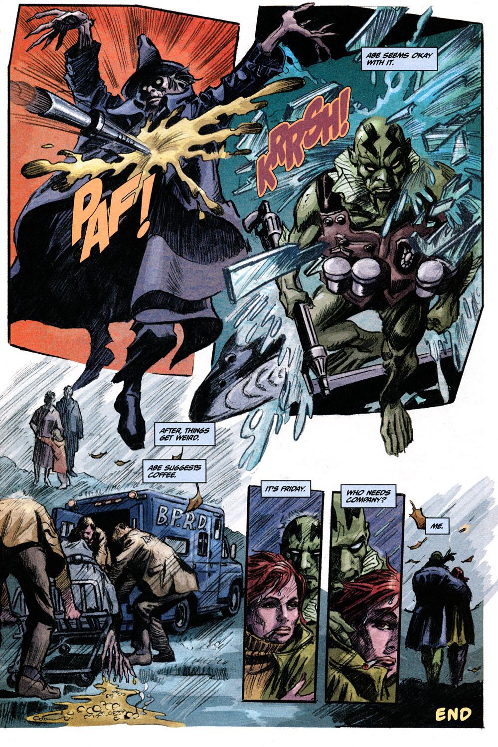 Read online Hellboy: Weird Tales comic -  Issue #6 - 16