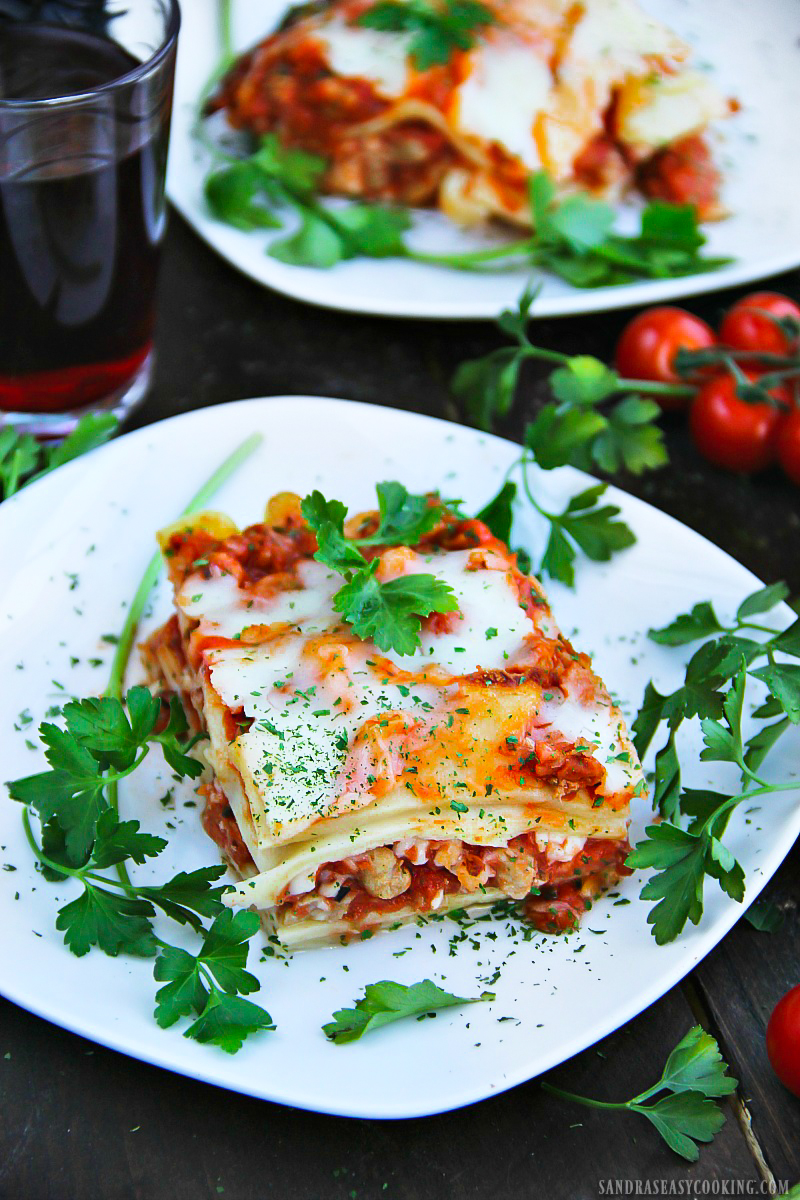 Turkey and Ham Lasagna