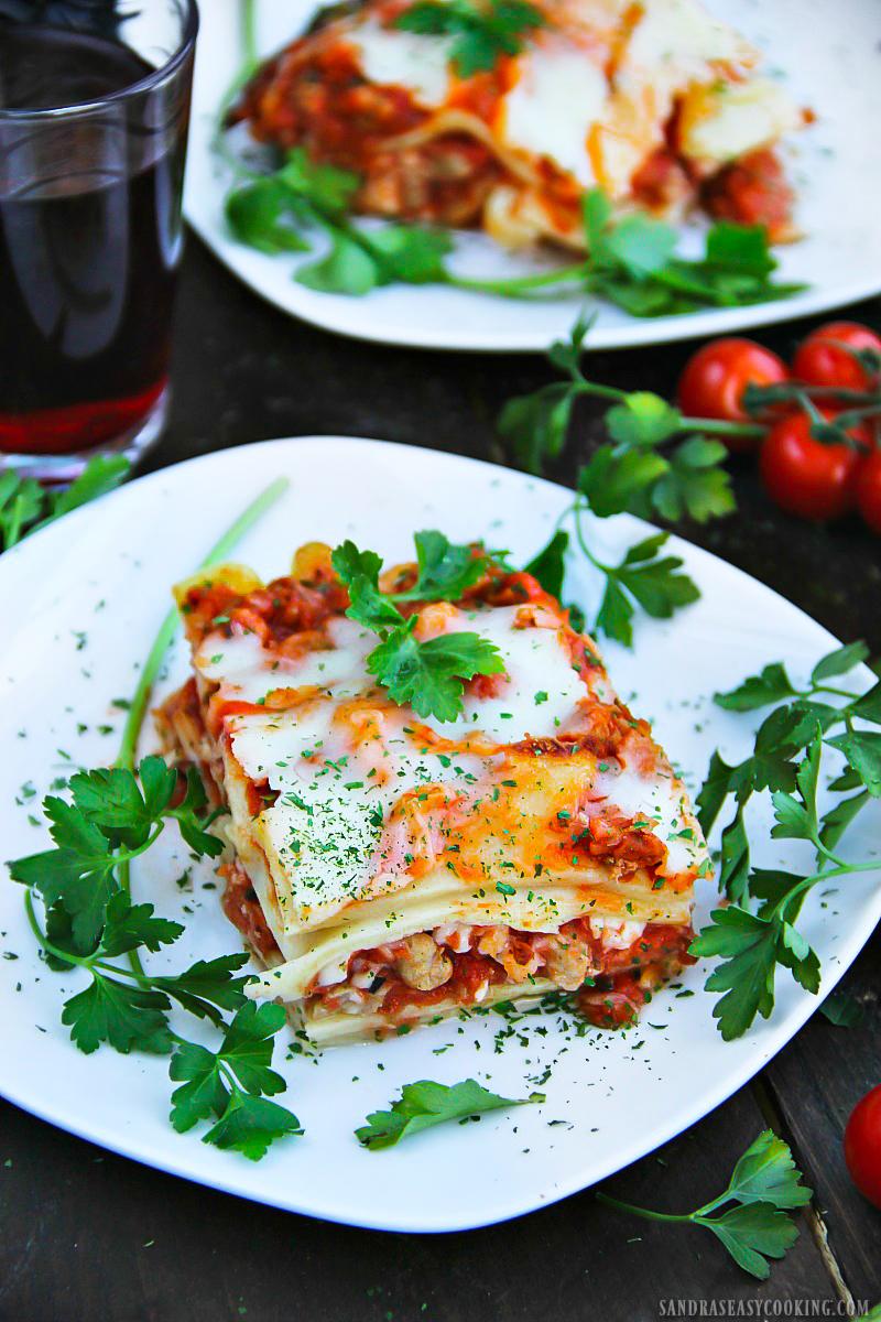 Turkey and Ham Lasagna
