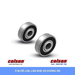 Bánh xe đẩy hàng PU lõi gang chịu lực 550kg | S4-8208-959  sử dụng ổ bi