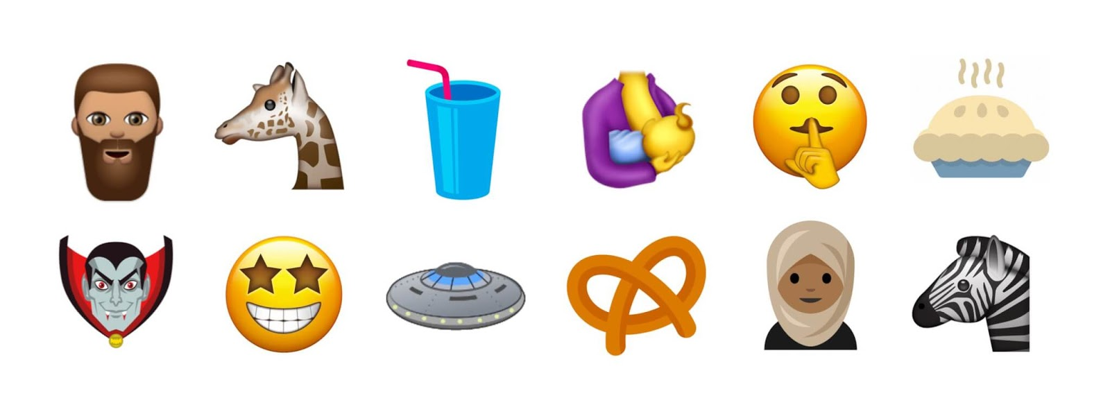 Here Are The 51 New Emoji That Coming With Unicode 10 This June