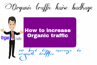 organic traffic kaise badhaye - Logo