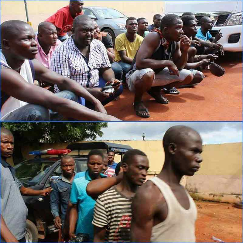 "Anambra Police sweep ""tax"" collectors and hoodlums in Onitsha and environs"