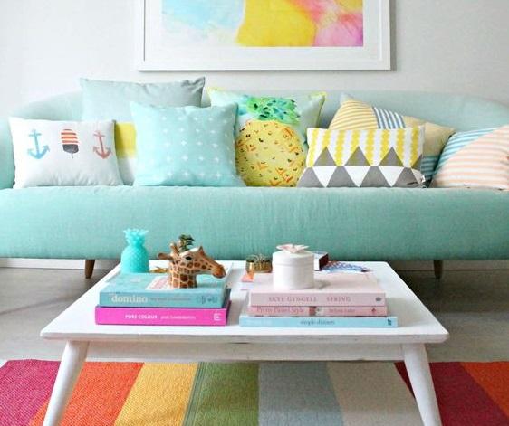 Design In Colours Colorful Ideas For Interior Design And