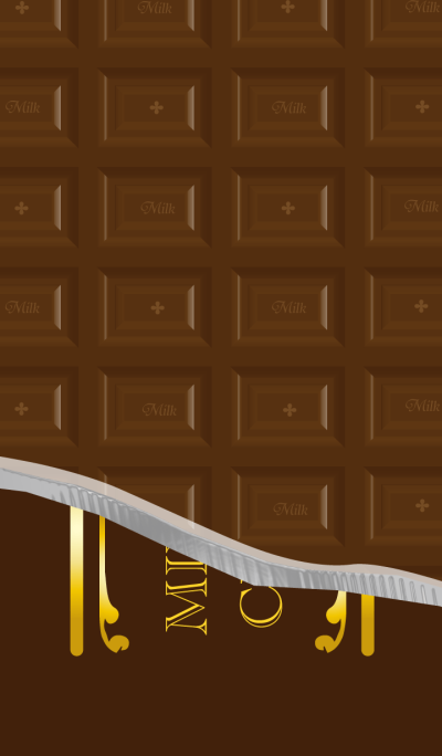 Plate chocolate Theme WV