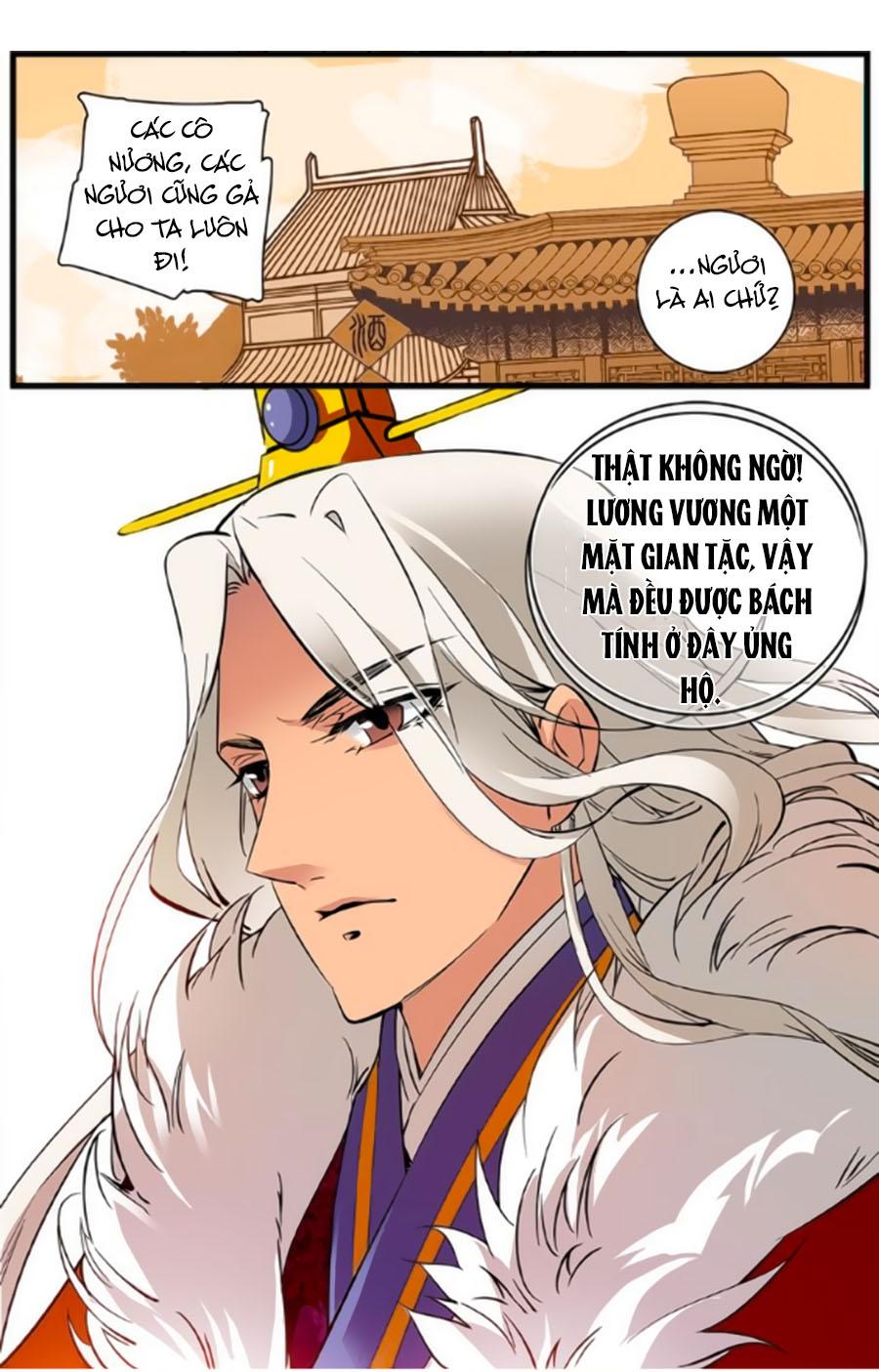 Hoàng Thượng! Hãy Sủng Ái Ta Đi! Chap 36
