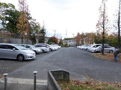 王仁公園・第一駐車場(無料)