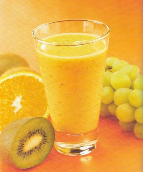 licuado de kiwi con leche condensada
