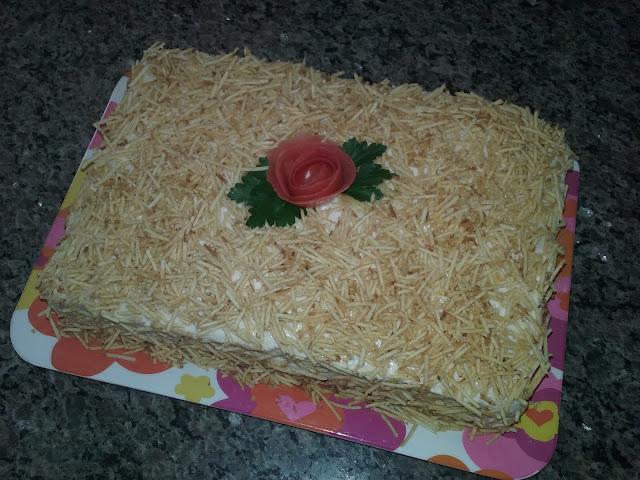 como fazer bolo salgado