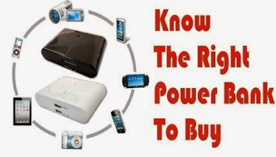 Know the right power bank to buy