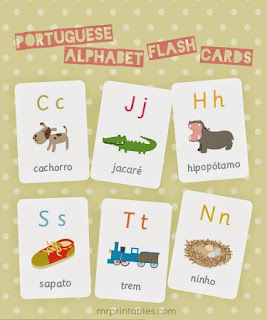 http://www.mrprintables.com/portuguese-alphabet-flash-cards.html
