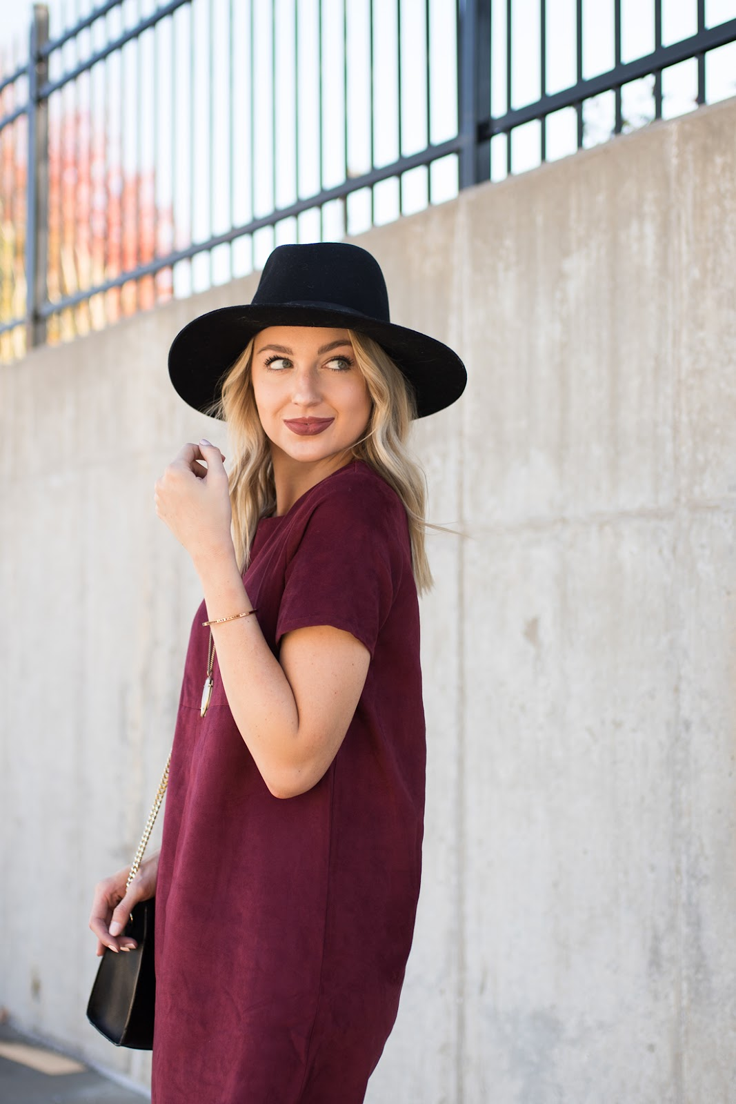Burgundy for fall