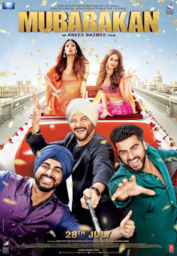 Mubarakan (2017) Movie Poster