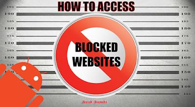Cara Mudah Membuka situs Terblokir Oleh Internet Positif