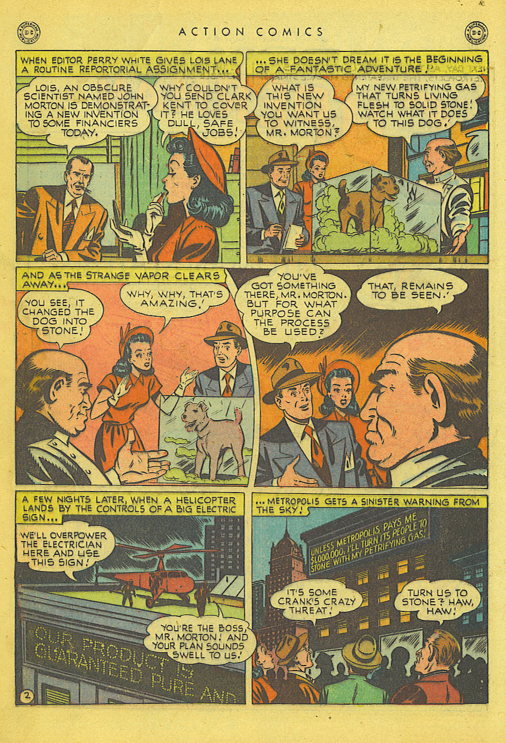 Read online Action Comics (1938) comic -  Issue #135 - 3