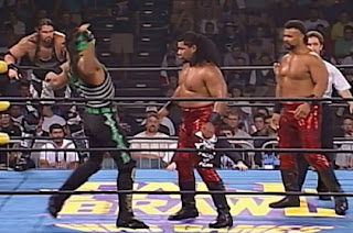 WCW Fall Brawl 1997 Review - Wrath & Mortis beat the Faces of Fear