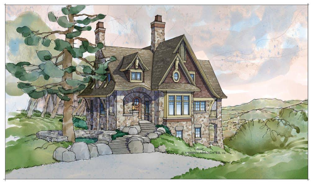 6-ermere-front-Rendering Visbeen Ociates Home Plans on