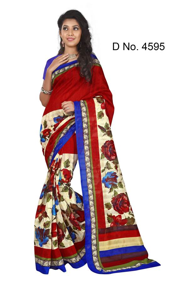 B 11 – Exclusive Printed Saree Buy Online Wholesale