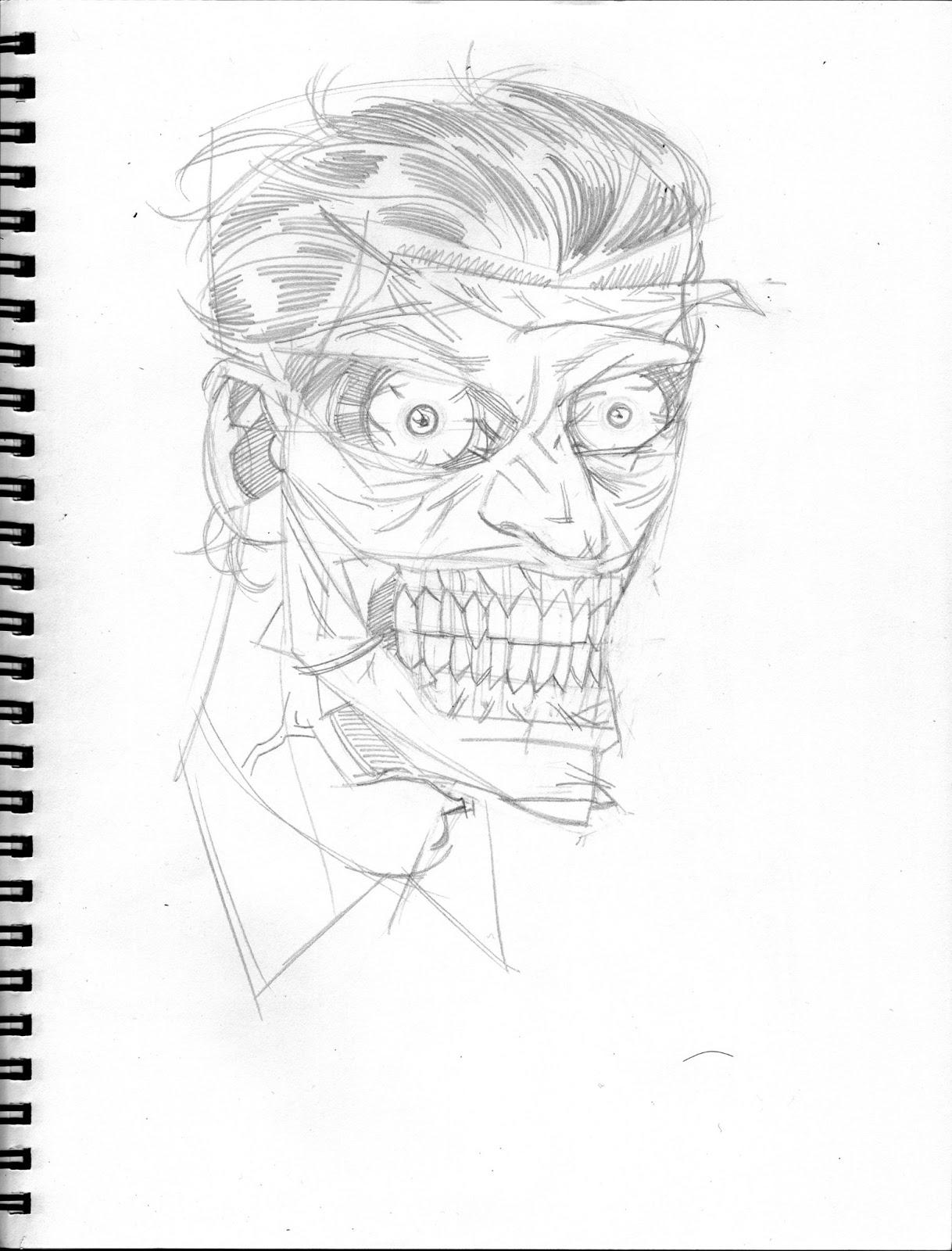 joker face drawing picture art tattoo recherche google clown