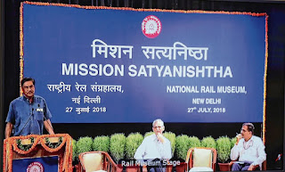 Indian Railways launches Mission Satyanishtha