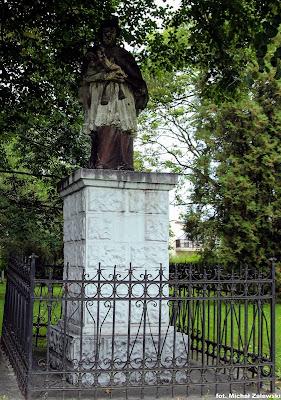 Węgry gm. Żórawina pow. wrocławski, św. Jan Nepomucen poł. XVIII w.